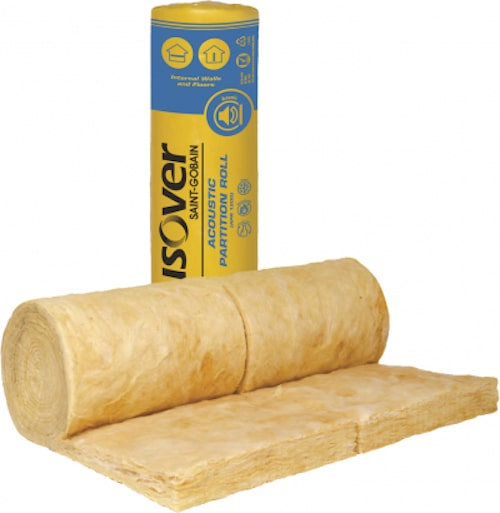 Isover apr acoustic partition roll 25mm, 50mm, 75mm, 100mm insulation roll