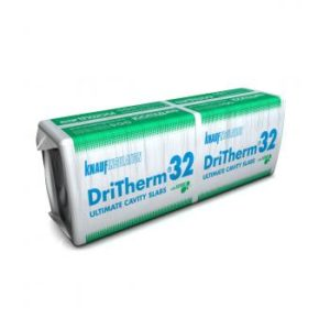Knauf Dritherm 32 100mm, Cavity Slab Insulation, Knauf Dritherm, Cheap Cavity Insulation, 1200x455, Cheap Insulation, Knauf Insulation