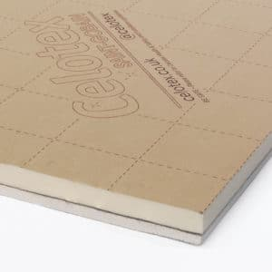 PL4000 Celotex insulation, insulated plasterboard