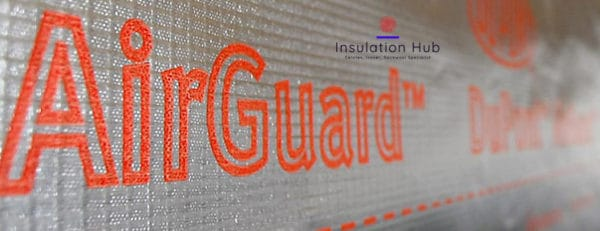 Tyvek AirGuard Vapour Reflective Layer usage