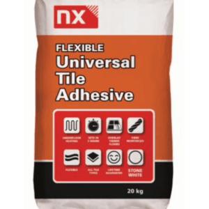 nx norcros, norcros adhesive, fast set, rapid set, flexible set, white tile adhesive