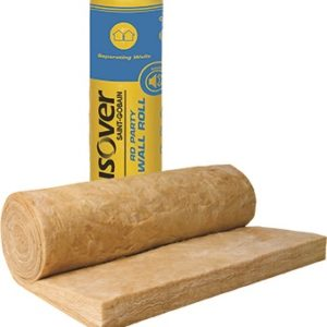 Isover RD Party Wall Roll - 75mm, 100mm, Cheap Isover, Party Wall Insulation, Cheap Insulation London, Birmingham, Manchester, Bristol, Midlands, Scotland. Isover insulation