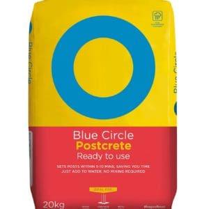 Blue Circle Postcrete (plastic bag), Concrete for post, Quick Dry Cement, Plastic Bag, Quick Dry Post Cement, Cheap Postcrete, Cheap postmix, Cheap postfix, London, Manchester, Birmingham, Scotland, Bristol, Wales