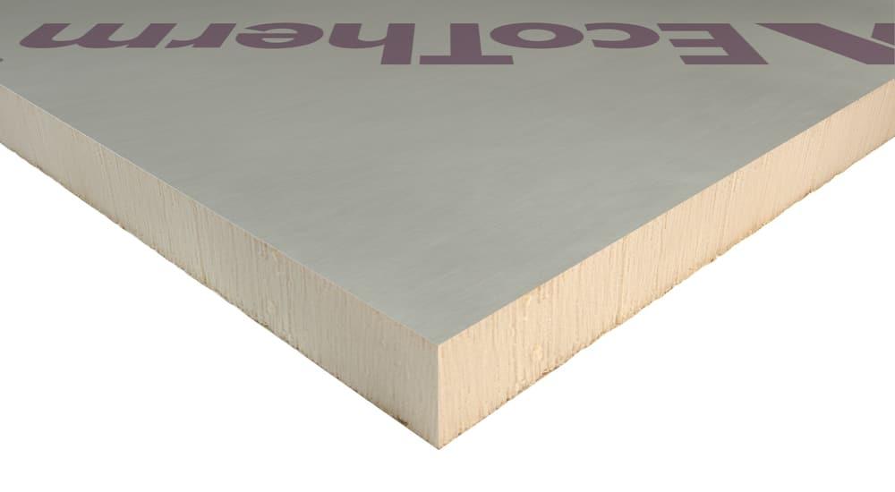 Ecotherm EcoVersal, PIR board, PIR Insulation, Cheap ecotherm in London, Manchester, Birmingham, Bristol, Scotland,25mm, 30mm, 40mm, 50mm, 60mm, 70mm, 75mm, 80mm, 90mm, 100mm, 110mm, 120mm, 125mm, 130mm, 140mm, 150mm