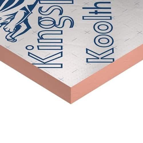 KINGSPAN KOOLTHERM K107 0.018W/mK Phenolic Insulation, Kooltherm, Cheap Kingspan Kooltherm in London, Birmingham, Manchester, Bristol, Scotland, Wales, Cornwall, Devon