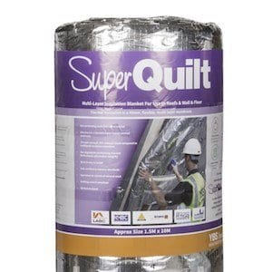YBS Superquilt, multifoil insulation