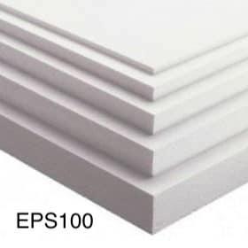 Polystyrene INSULATION -EPS-100. 255m, 30mm, 35mm, 40mm, 45mm, 50mm, 55mm, 60mm, 65mm, 70mm, 75mm, 80mm, 85mm, 90mm, 95mm, 100mm, 105mm, 110mm, 115mm, 120mm, 125mm, 130mm, 135mm, 140mm, 145mm, 150mm