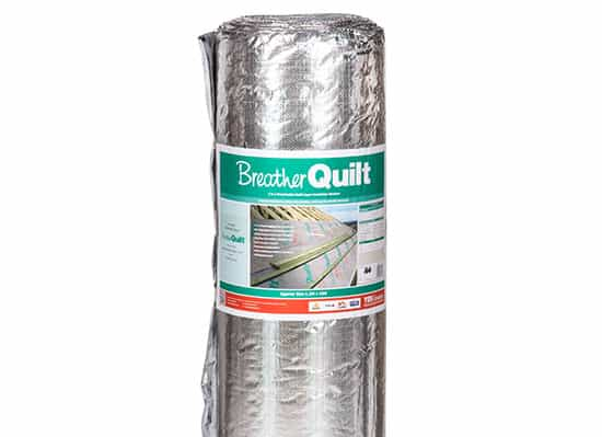 ybs breatherquilt, breather quilt, 1.2m, multi foil insulation