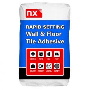 nx Norcros tile adhesive wall and floor, rapid setting