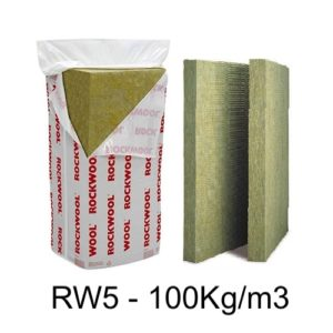 Rockwool RW5 acoustic insulation, thermal insulation, fire insulation