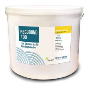 Regubond 100 Adhesive for Acoustic Flooring